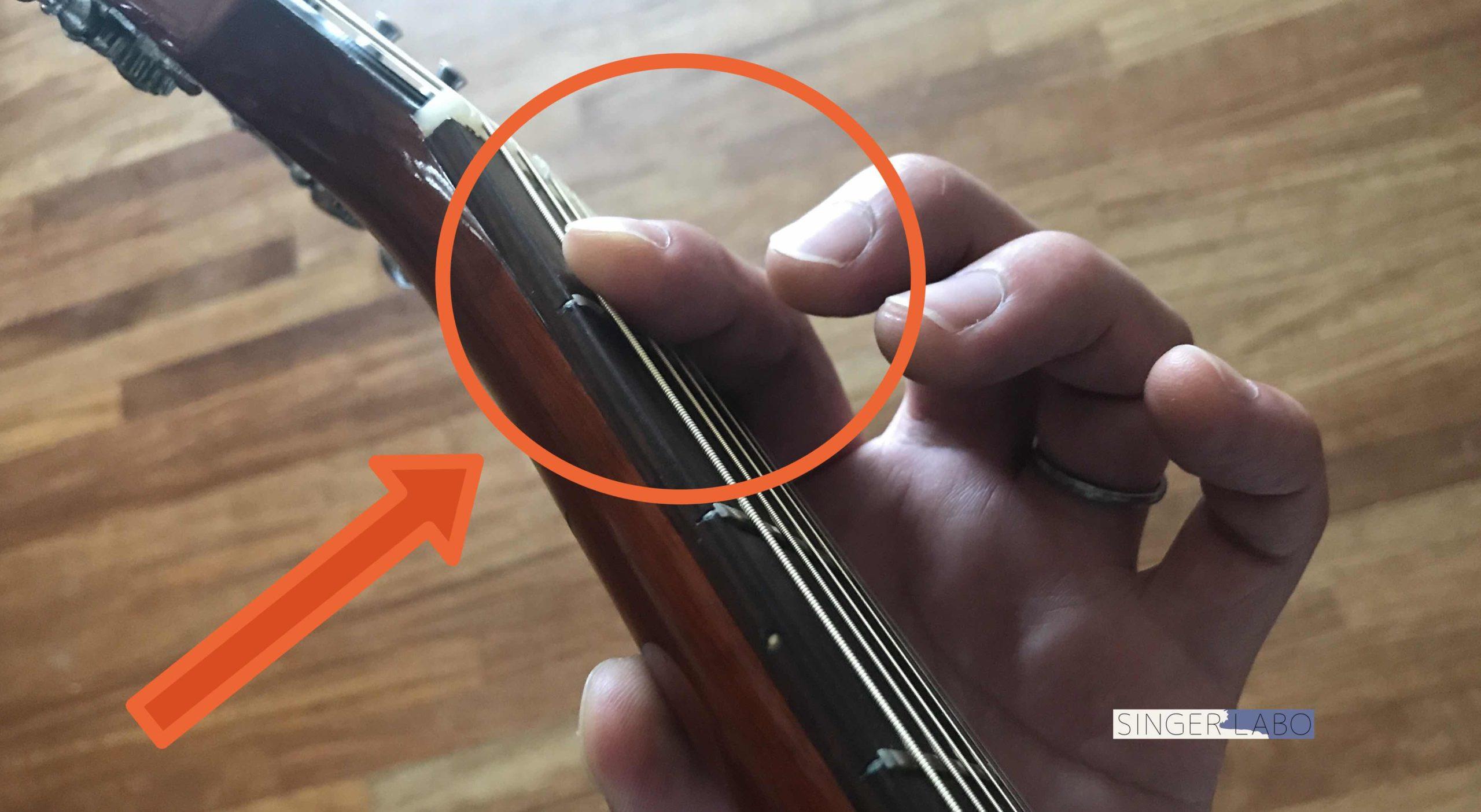 ギターのFコードが弾けない!   バレーコードの押さえ方を解説