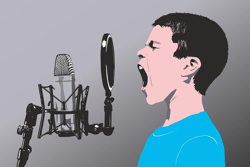 腹式呼吸を使っての発声方法