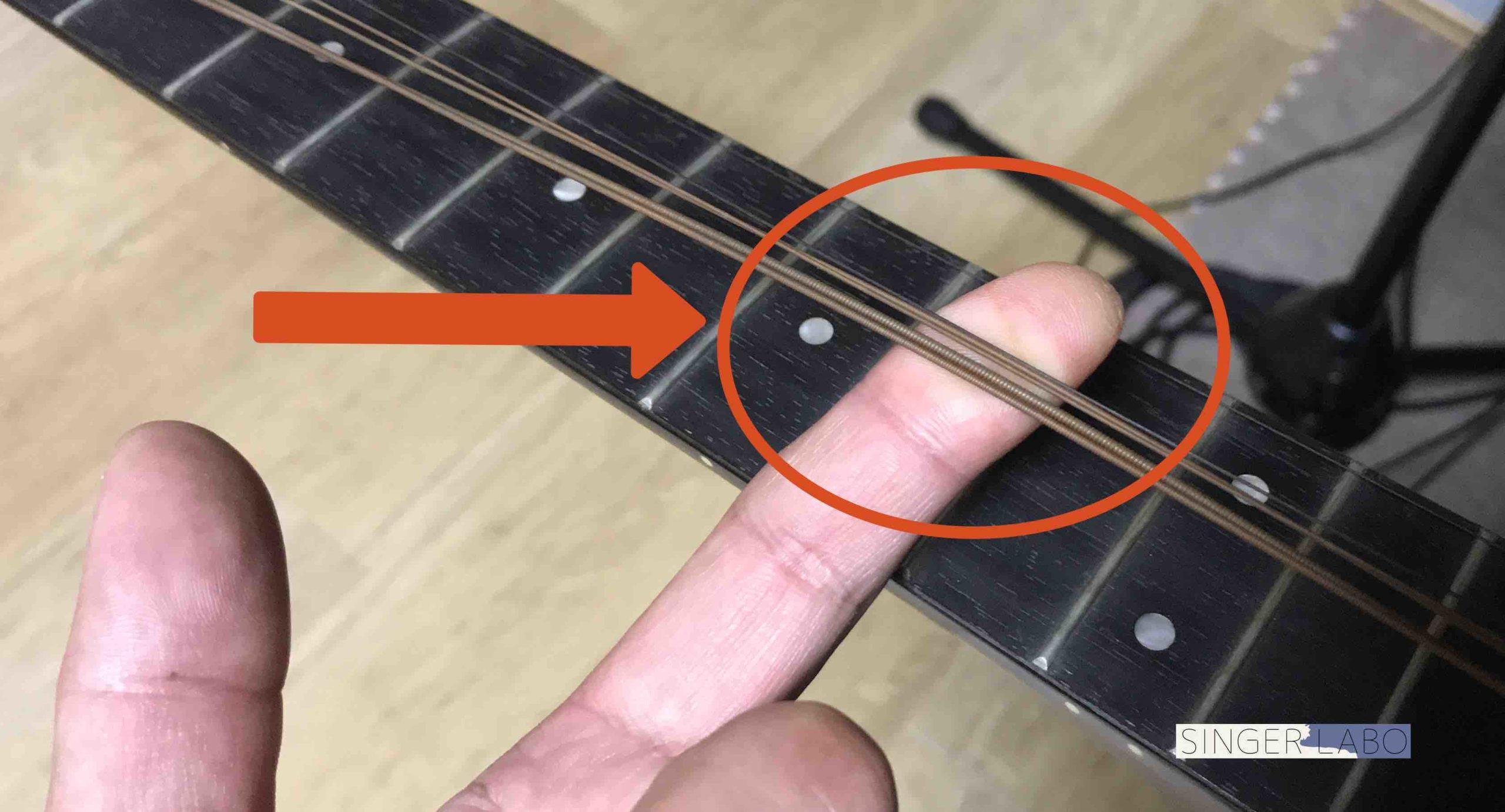 ギター弦交換手順①: ギターの弦を緩める