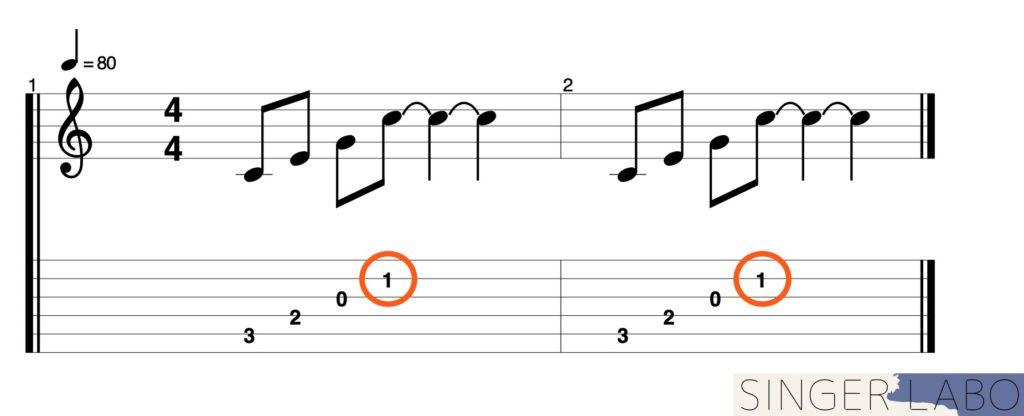 オススメ奏法①: プル奏法