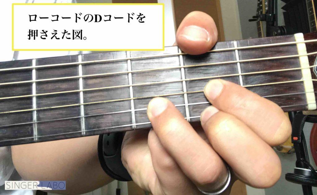 ギターのDコードの押さえ方やコツを解説!【意外に難しい!?】