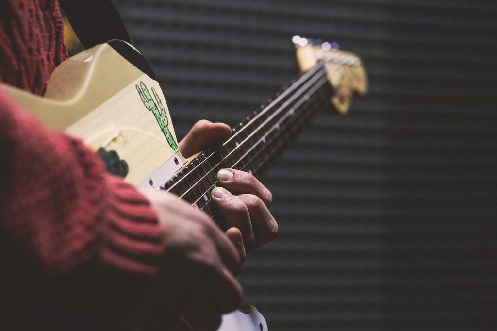 ギターチョーキングの種類